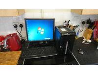 PACKARD BELL DUAL CORE WINDOWS 7 COMPUTER