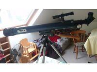 BSA 150 x 50 mm Telescope.