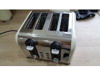 Morphy richards Kettke & toaster. Plus storage canisters