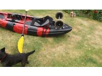 Galaxy one man canoe with all kits for ��300