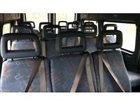 LDV Convoy Minibus seats