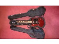 Rarely used Gibson SG standard bought in 2006.