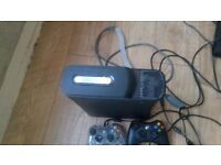 Xbox 360 console and 2controllers