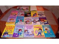 Horrid henry collection 18 books £10.00 the lot.