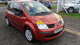 Renault Modus Expression, 2004, low miles 50k, 1.4 Petrol, full service history