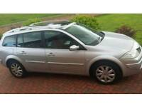 renault megane diesel estate just mot and serviced cheap car lots of new parts