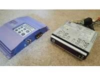 Stereo + amplifier cd/radio
