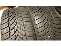 225 45 17 2 x tyres MAXXIS Presa Snow