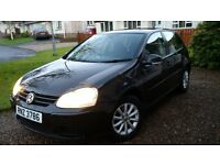 VW Golf 1.9TDI Match 2008 Black FOR SALE