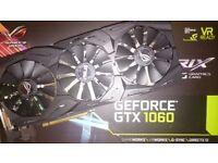 Asus Strix Geforce GTX 1060, 6GB GDDR5