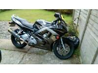 Honda cbr 600 p reg with mot £1400 ono or swap for any chopper or creuser.