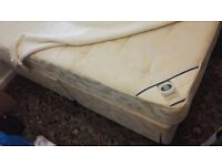 Divan Double Bed and Matress for a quick sale