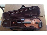 Children violin 1/4 size
