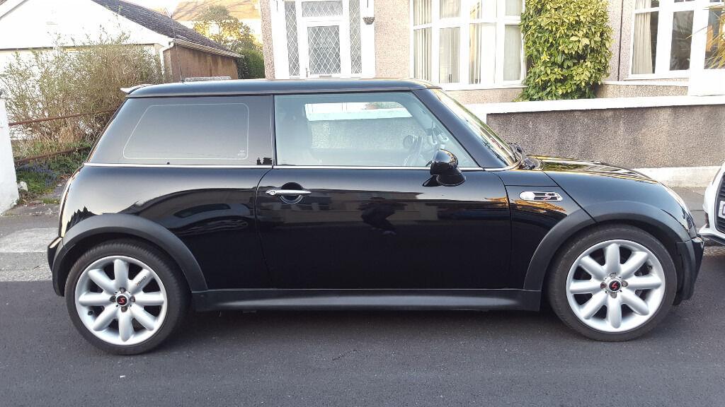 For Sale in Plymouth  Mini Cooper S in Metallic Black  High Spec