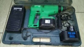 Hitachi DH 200v Electro pneumatic drilling system 24v in good condition!
