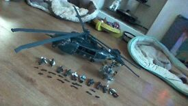 Gears of War Helicopter & Figures - Meccano & Silverback Judgement toy