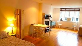 Lovely huge double room. Available in April. ALL BILLS. Next Chalk Farm, Baker Street