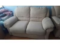 Sofa and matching chair electric recliner