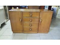Art Deco Buffet Serving Cabinet / Sideboard