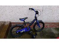 Boys Blue 16inch Bike