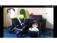 Mothercare Xpedior Green Travel System