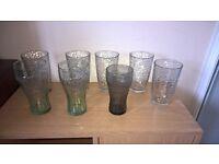 Mixed lot of 8 glasses