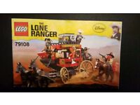 Lego lone ranger stage coach express 79108