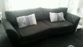 ** grey sofa 4 seater** FREE DELIVERY