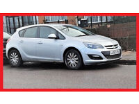 {39800 Miles}-- 2012 Vauxhall Astra 1.4 i VVT Exclusiv -- Cheap on Fuel -- Low Mileage -- Part Ex OK