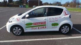 1st 10 DRIVING LESSON £9;99 T&C