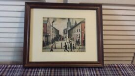A Pair of L. S. Lowry Prints
