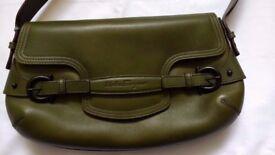 Salvatore Ferragamo Olive Green Handbag