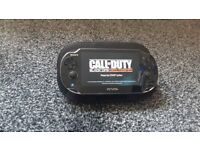 Sony ps vita pch-1103 model 4gb memory card 3 games 2 chargers orginal case