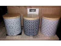 Next set of 3 storage jars