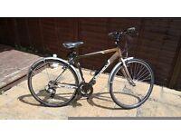 Hybrid Discovery 21Inch Frame Bike Used Twice