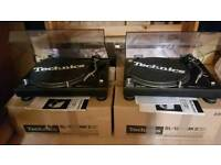 Pair of boxed technics 1210 mk2