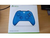 Xbox One Blue Controller NEW
