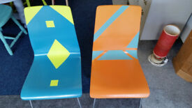 Retro Pair of Chairs