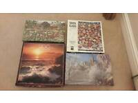 4 Sealed Boxed Jigsaw Puzzles