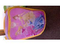 Disney princess popup storage