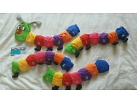 Alphabet Finger Puppet Caterpillar by Fiesta Crafts