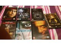 Bundle of Horror Dvds Film