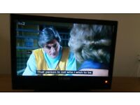 Small tv for sale with freeview. Has No remote. Freeview. VGood pucture.