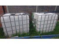Storage Container tank 1000lt