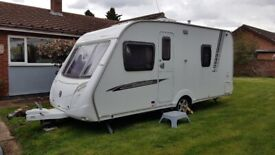 2008 Swift Charisma 535 Fixed bed caravan
