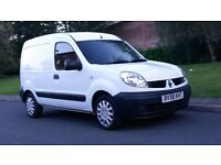 Renault kangoo SL17 DCI 70 1.5 Diesel Manual - No VAT - F/S/H - 11 Month MOT - Small White Van