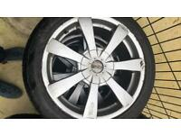 """17"""" alloys with winter tyres"""