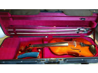 4/4 violin with good case suitable for beginner