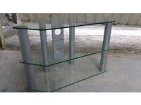 GLASS TV STAND UP TO 37''