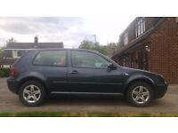 VW Golf mk4 GT TDI 130 (165bhp) Superchips Only 74000 Miles 3 Door, 9 months mot Extras Nice v.g.c